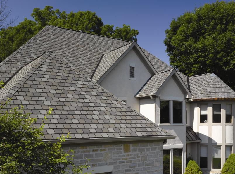 Roofing contractor ma for Fiber cement composite roofing slate style