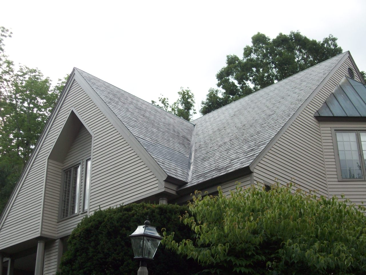 Slate roofing installation in wrentham ma neponset for Fiber cement composite roofing slate style