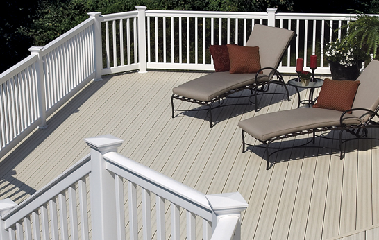 Vinyl deck contractor ma for Fiber cement composite roofing slate style