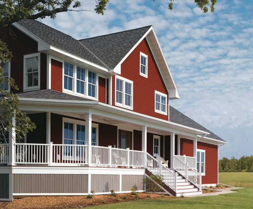 Fiber cement siding contractor ma for Fiber cement composite roofing slate style