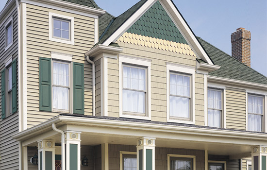 Vinyl siding contractor ma for Fiber cement composite roofing slate style
